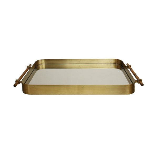 Worlds Away Saratoga Rounded Edge Tray