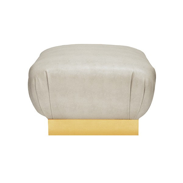 Worlds Away Sidney Ottoman - Matthew Izzo Home