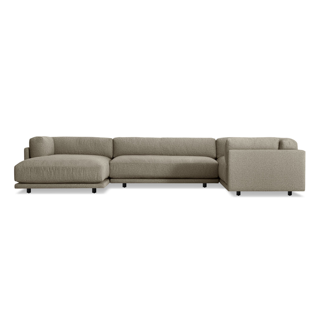 Sunday L Sectional Sofa w/ Left Arm Chaise