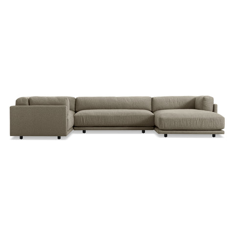 Sunday L Sectional Sofa w/ Right Arm Chaise - Matthew Izzo Home