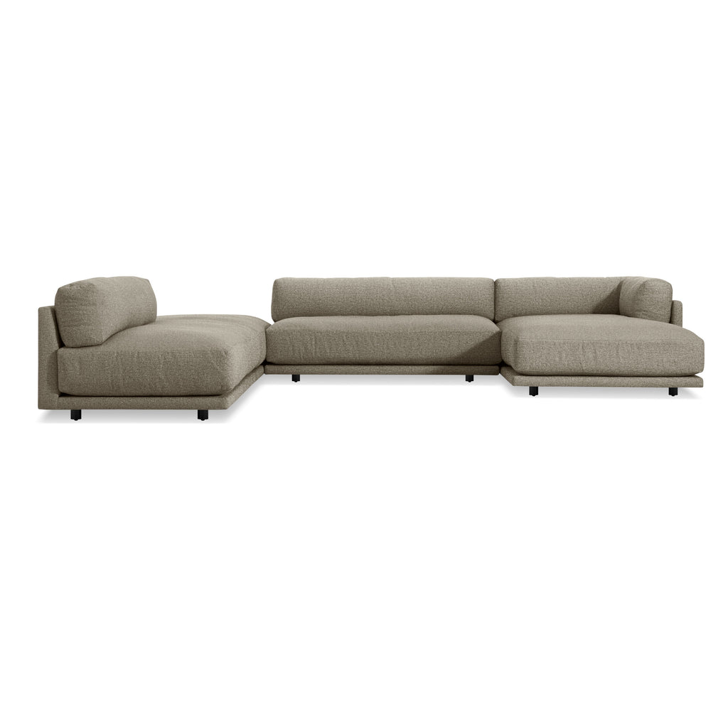 Sunday J Sectional Sofa w/ Right Chaise - Matthew Izzo Home