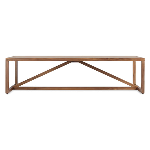 Blu Dot Strut Rectangular Wood Coffee Table