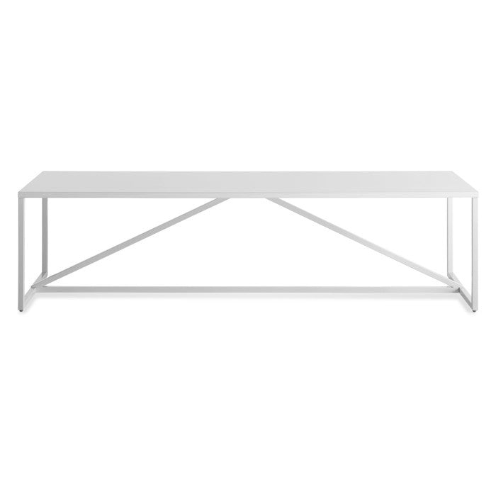 Blu Dot Strut Lacquered Rectangular Coffee Table - Matthew Izzo Home