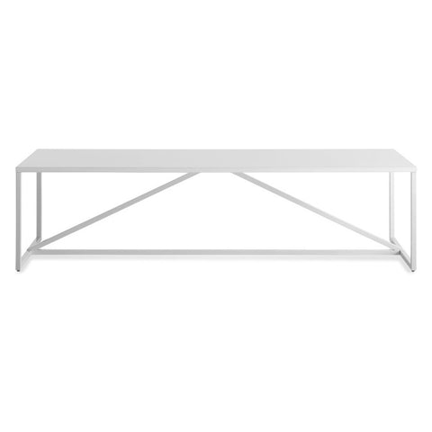 Blu Dot Strut Lacquered Rectangular Coffee Table