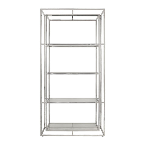 Worlds Away Fletcher Double Frame Etagere - Matthew Izzo Home