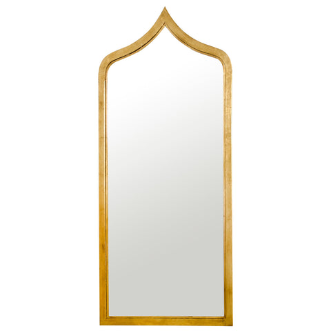 Worlds Away Adina Large Wall Mirror Gold or Silver - Matthew Izzo Home