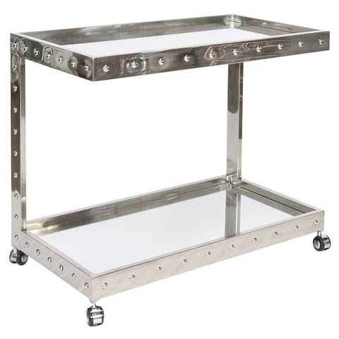 Worlds Away Vince Bar Cart - Matthew Izzo Home