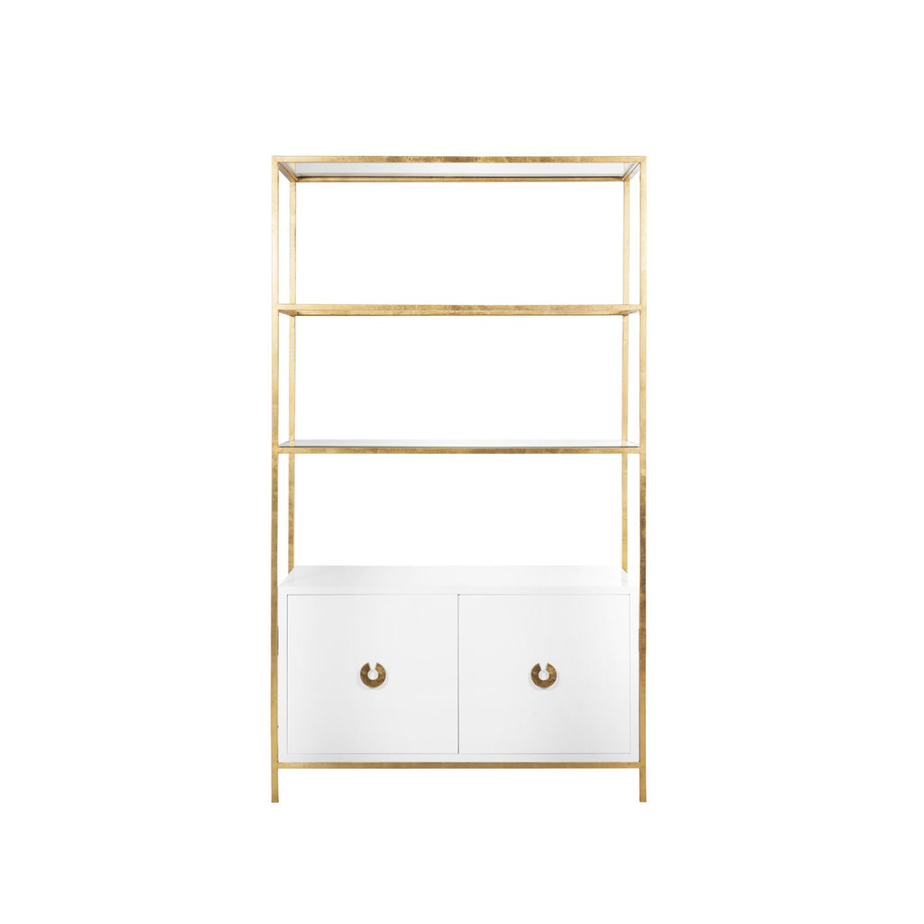 Worlds Away Wyeth Etagere - Matthew Izzo Home