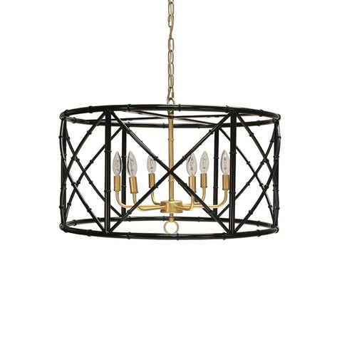 Worlds Away Zia Chandelier - Matthew Izzo Home