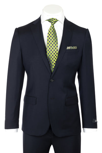 Dolcetto Modern Fit, Navy, Pure Wool Suit by Reda Cloth by Canaletto Menswear CRS903  Canaletto - Italian Suit Outlet