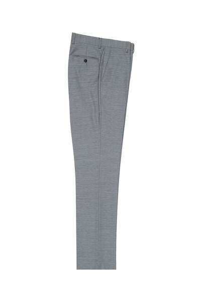 Light Gray Slim Fit, Pure Wool Dress Pants by Tiglio Luxe E09063/26  Tiglio - Italian Suit Outlet