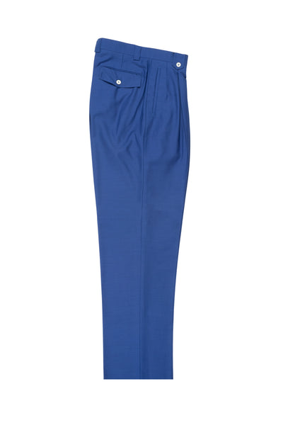 F.Blue, Wide Leg Wool Dress Pant 2586/2576 by Tiglio Luxe RS4361/1  Tiglio - Italian Suit Outlet