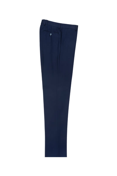 French Blue Slim Fit, Pure Wool Dress Pants by Tiglio Luxe TIG5966  Tiglio - Italian Suit Outlet