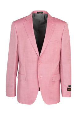 Dolcetto Pink, Modern Fit, Pure Wool Jacket by Tiglio Luxe TS6093/1  Tiglio Luxe - Italian Suit Outlet