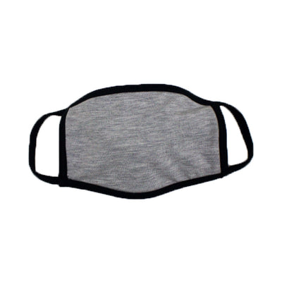 Heather Grey Face Mask  Italian Suit Outlet - Italian Suit Outlet