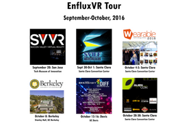 """Virtual Village People,"" the EnfluxVR Dancing Game, Goes on Tour in October"