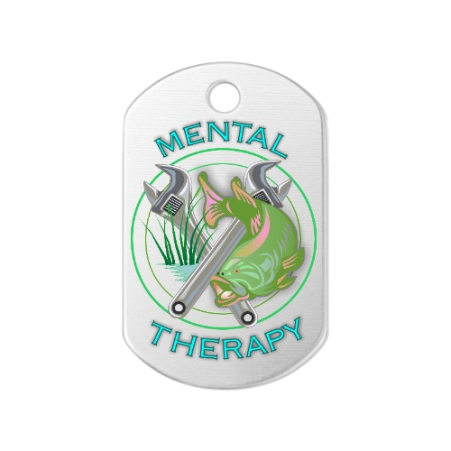 Mental Therapy Dog Tag