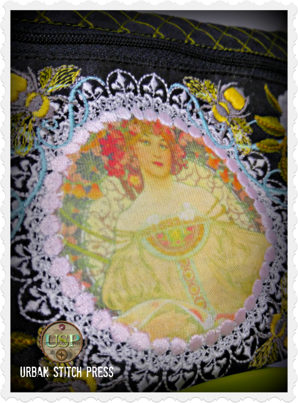 Mucha Beauty Bag