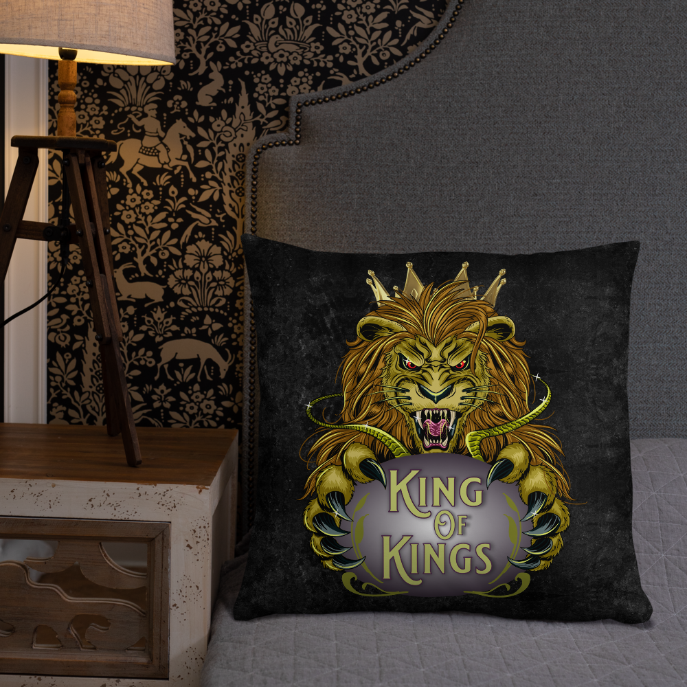 King of Kings Pillow