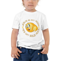 Jesus Is My Rock Toddler T-Shirt