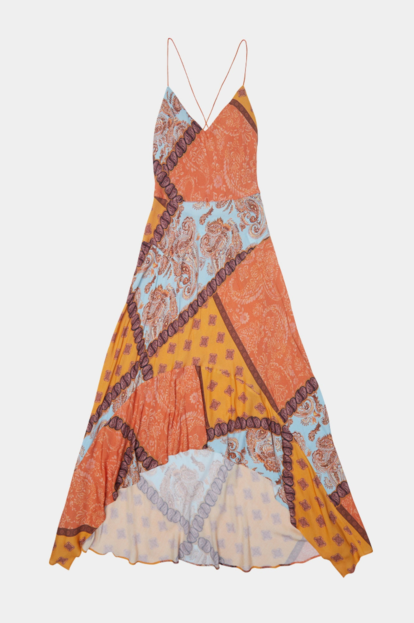 PAISLEY CIRCLE DRESS - Esteban Cortazar