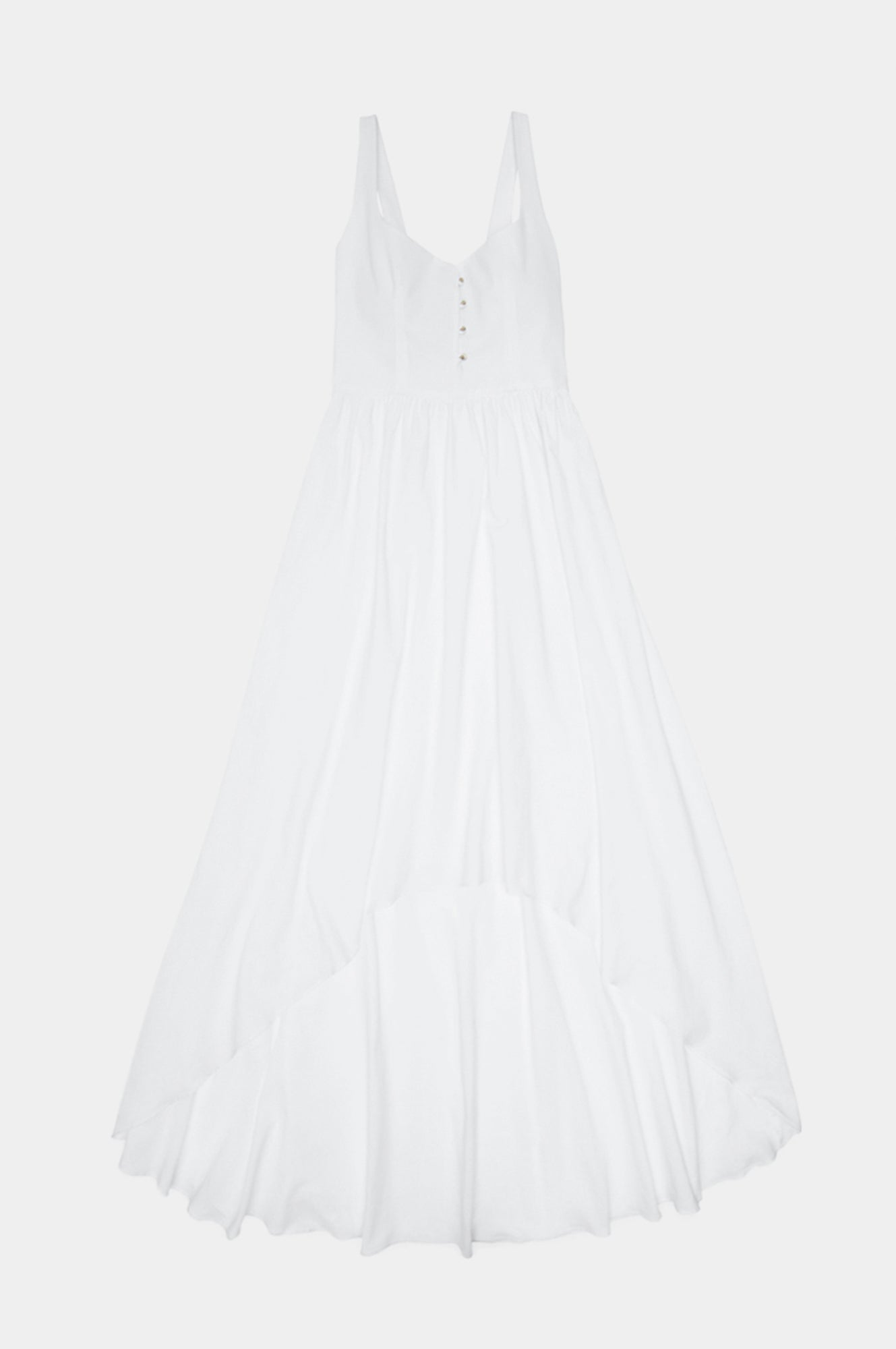 WHITE CORSET DRESS - Esteban Cortazar