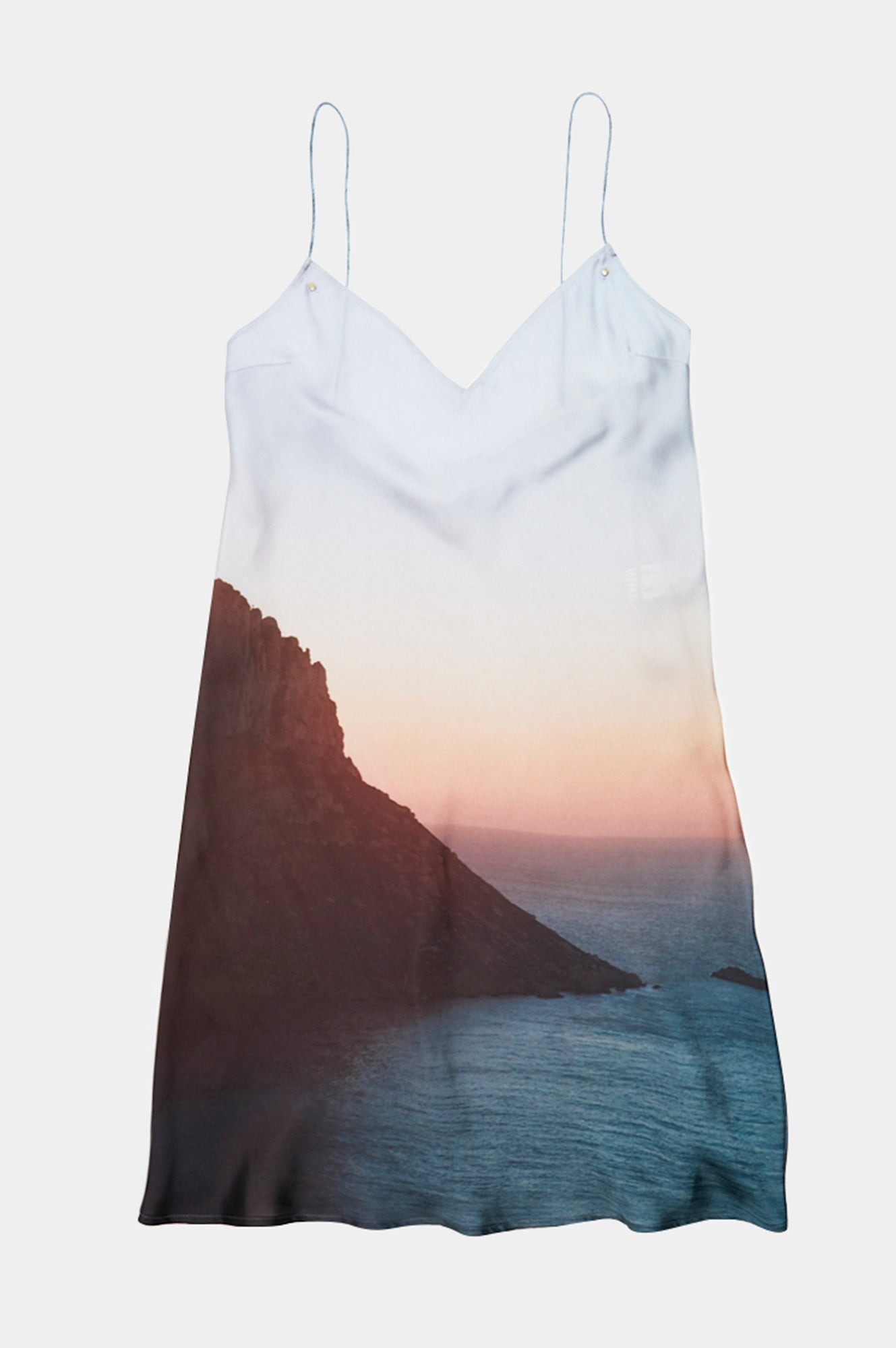 ES VEDRA SUNSET PRINT MINI DRESS - Esteban Cortazar