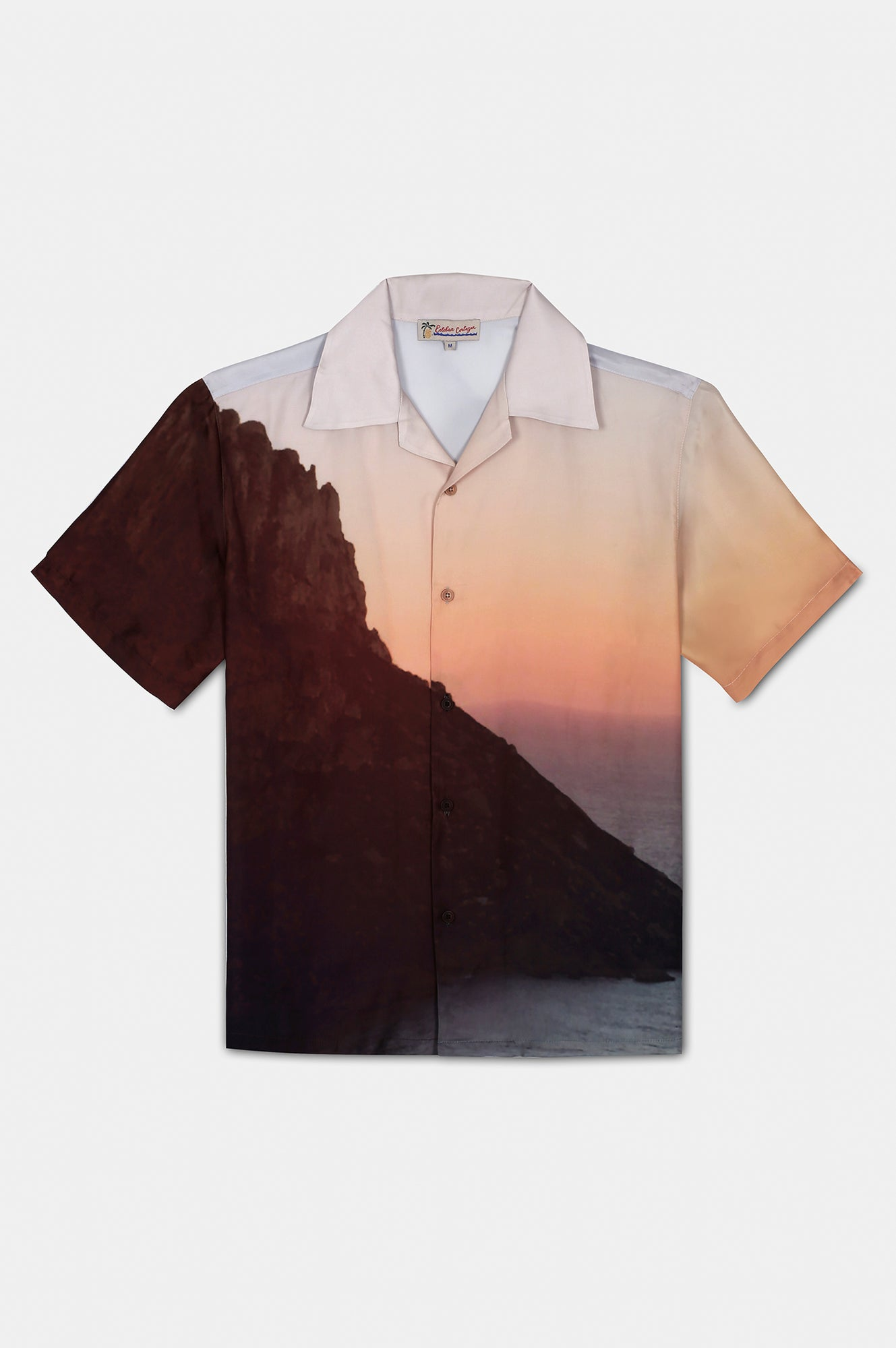 ES VEDRA SUNSET PRINT SHORT SLEEVE SHIRT - Esteban Cortazar