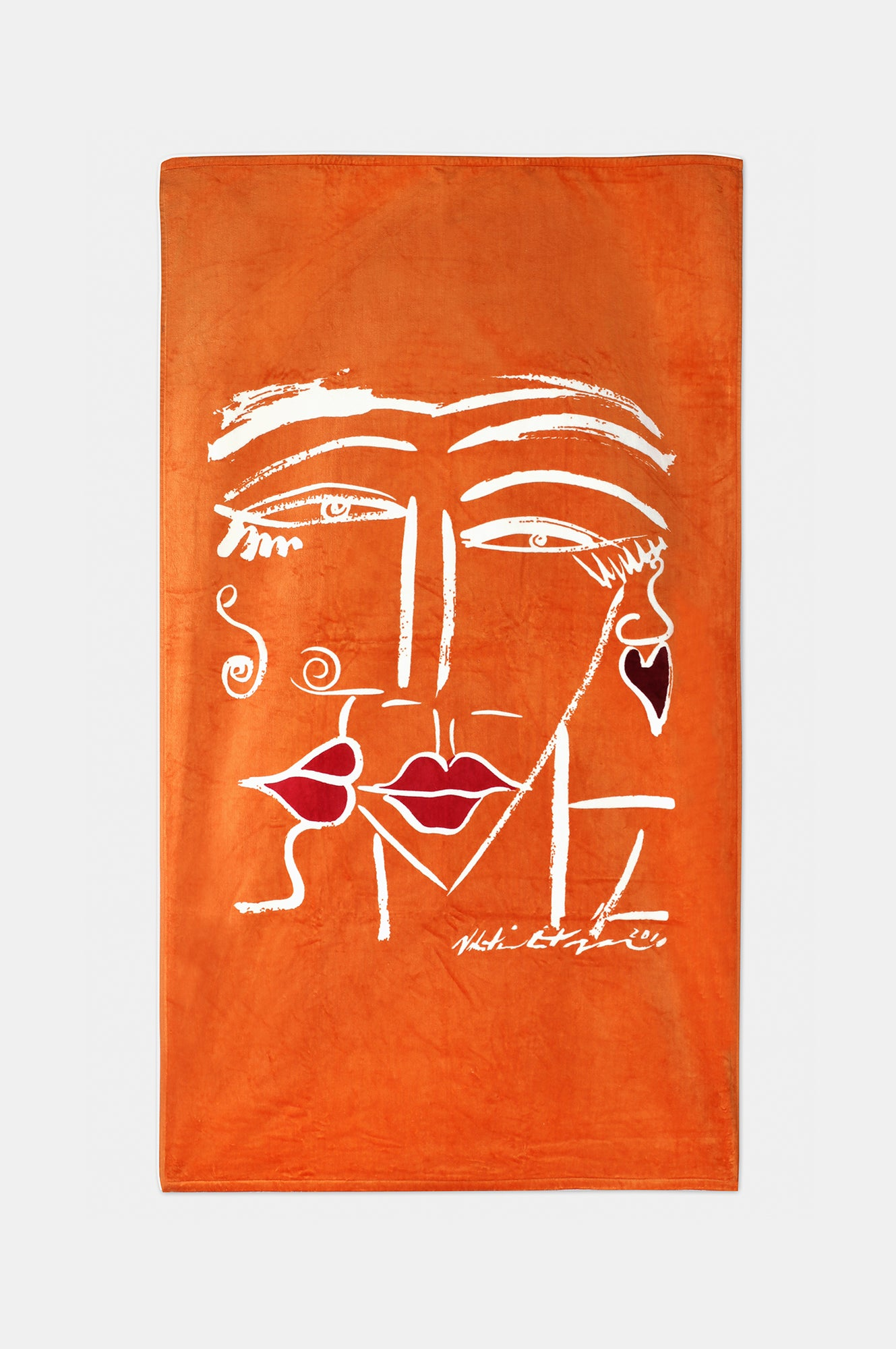 PRINTED BEACH TOWEL - Esteban Cortazar