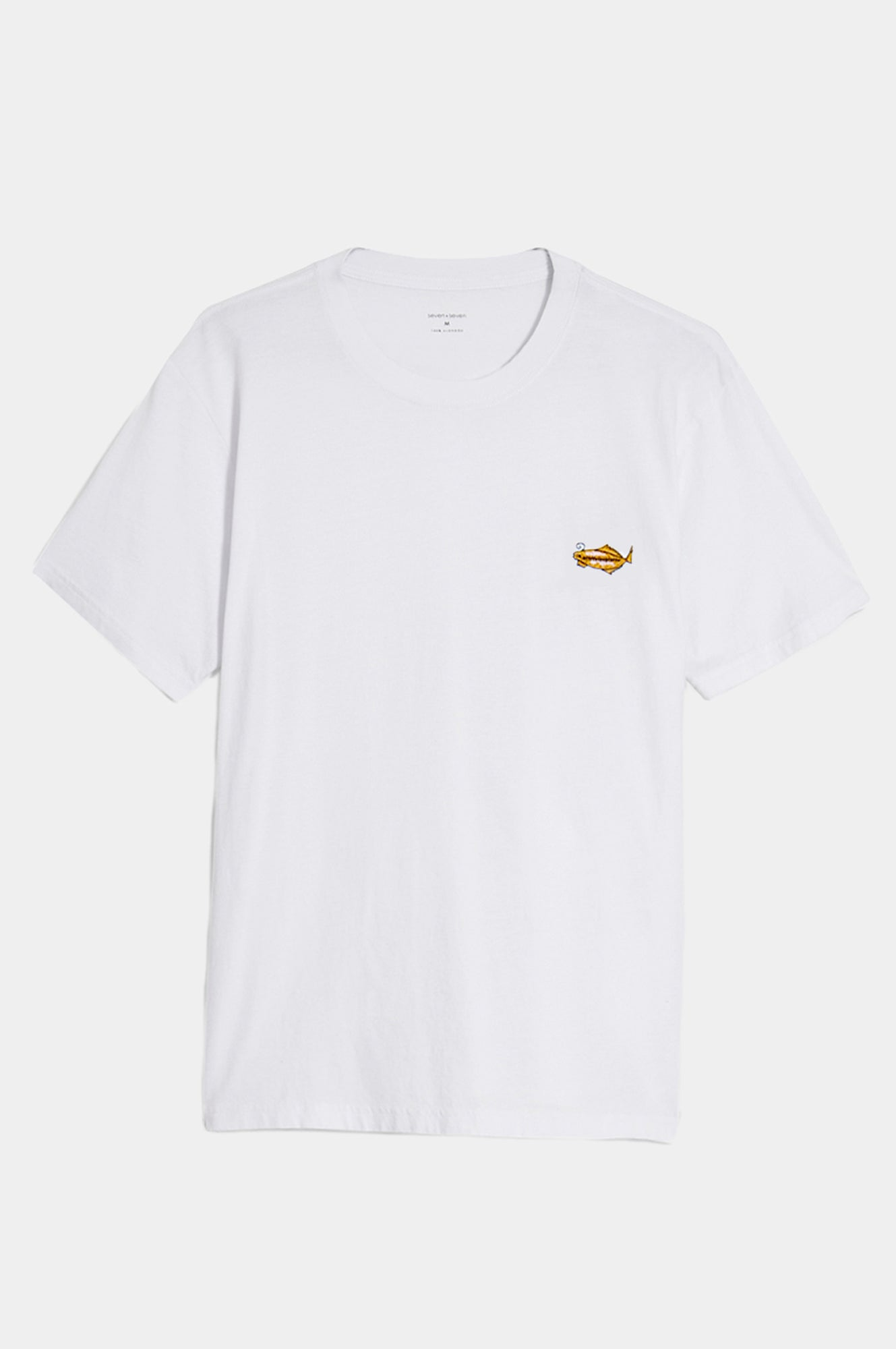 FISH EMBROIDERY T-SHIRT - Esteban Cortazar