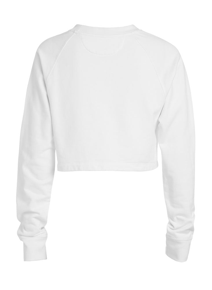 Special collab ECXTaeq: Cap sleeve body Cropped pullover