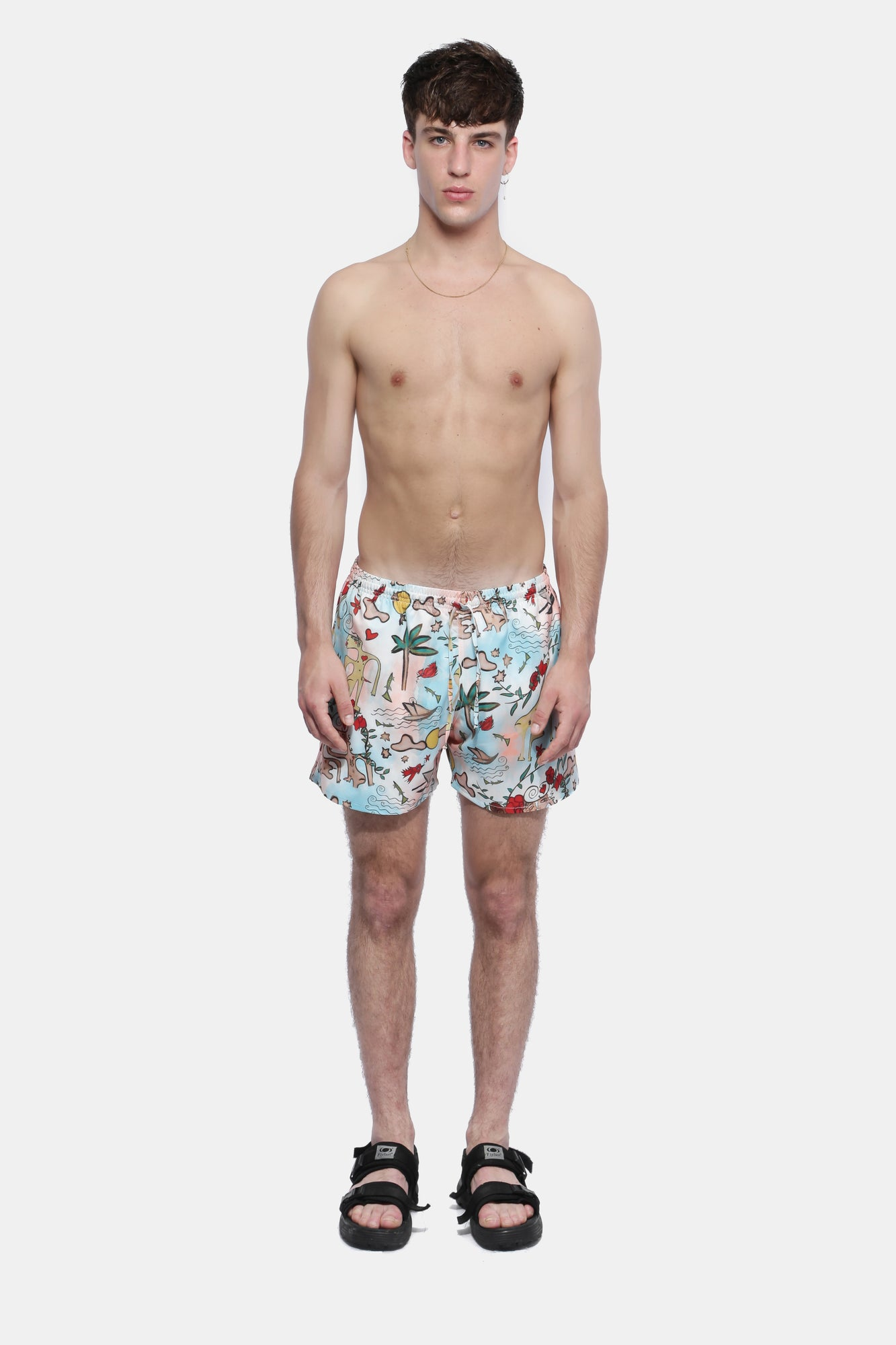 LOVE BY VALENTINO CORTAZAR SHORTS - Esteban Cortazar