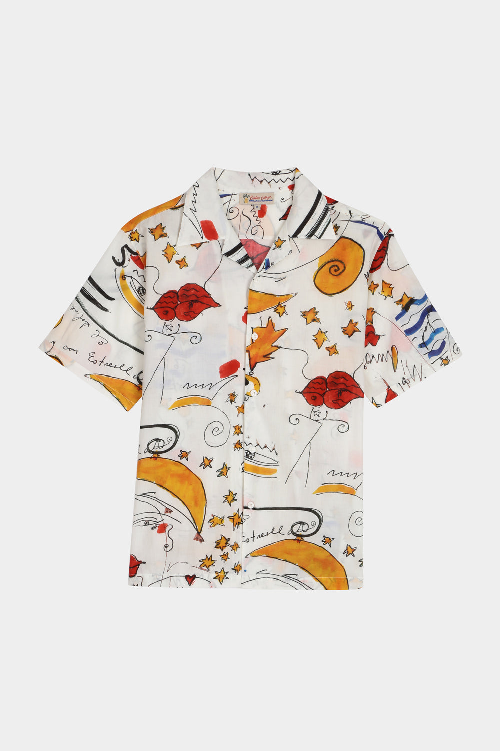 MIAMI MI AMOR PRINT SHORT SLEEVE SHIRT