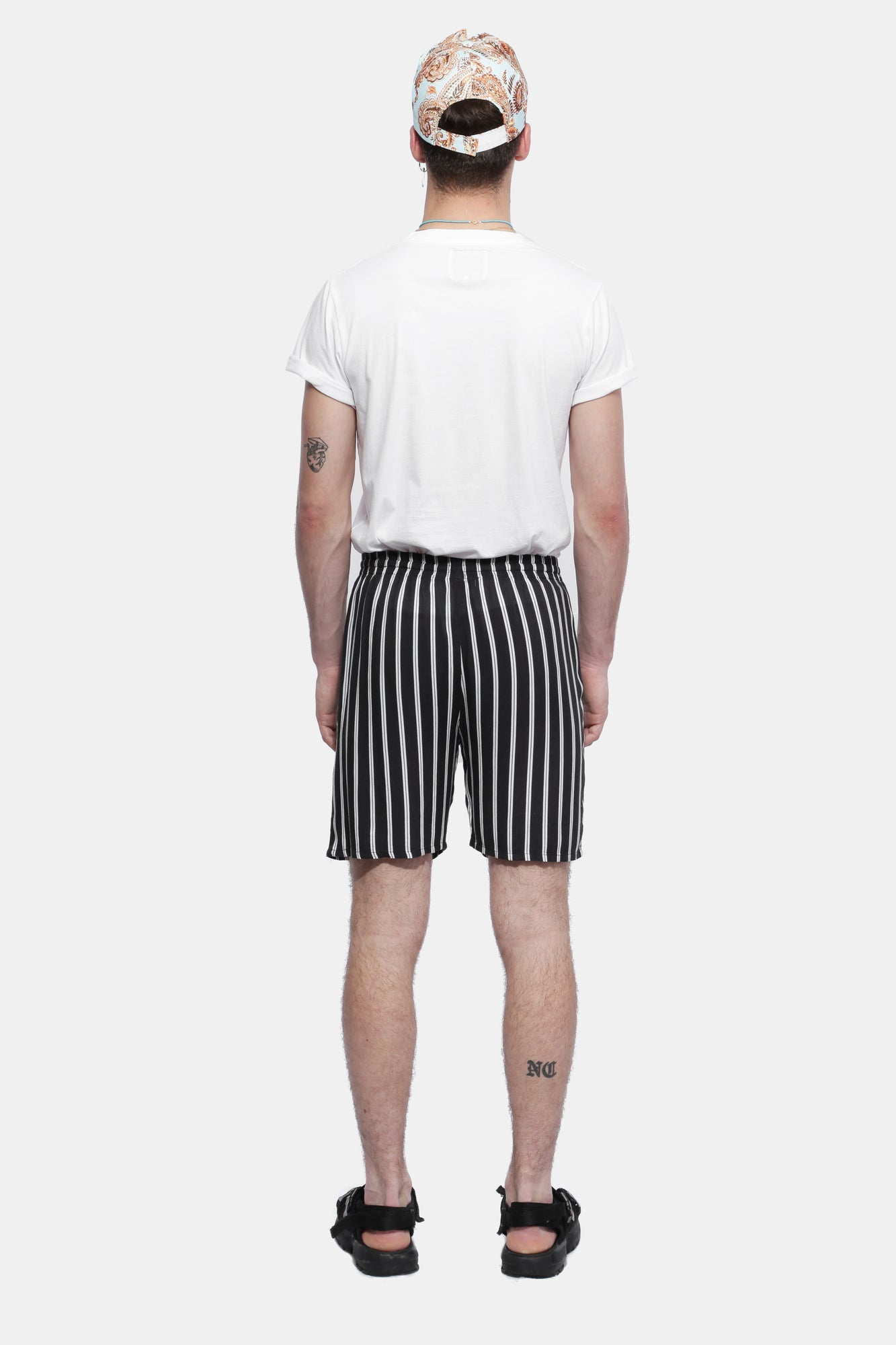 STRIPED SHORTS - Esteban Cortazar