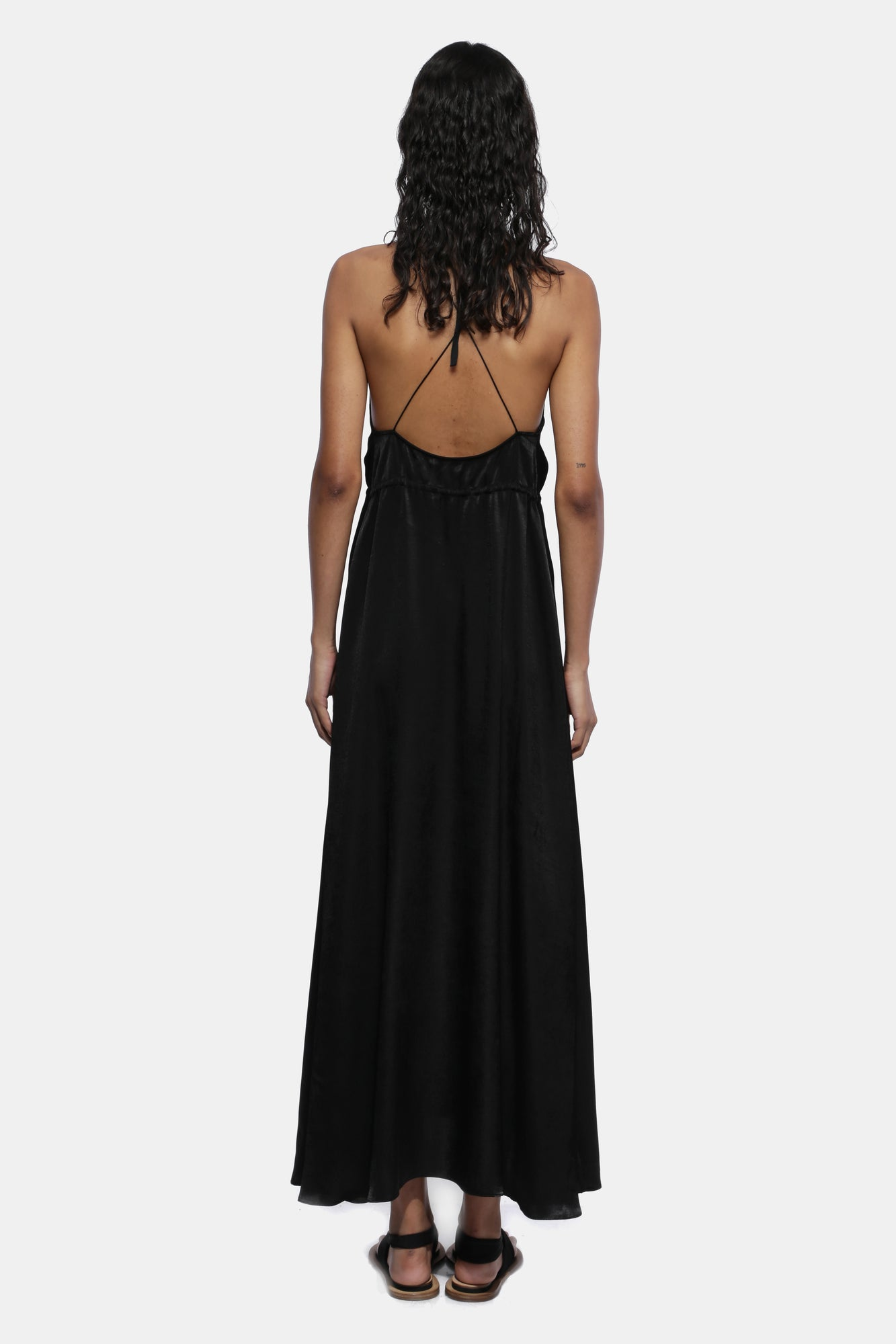 BLACK CIRCLE DRESS - Esteban Cortazar