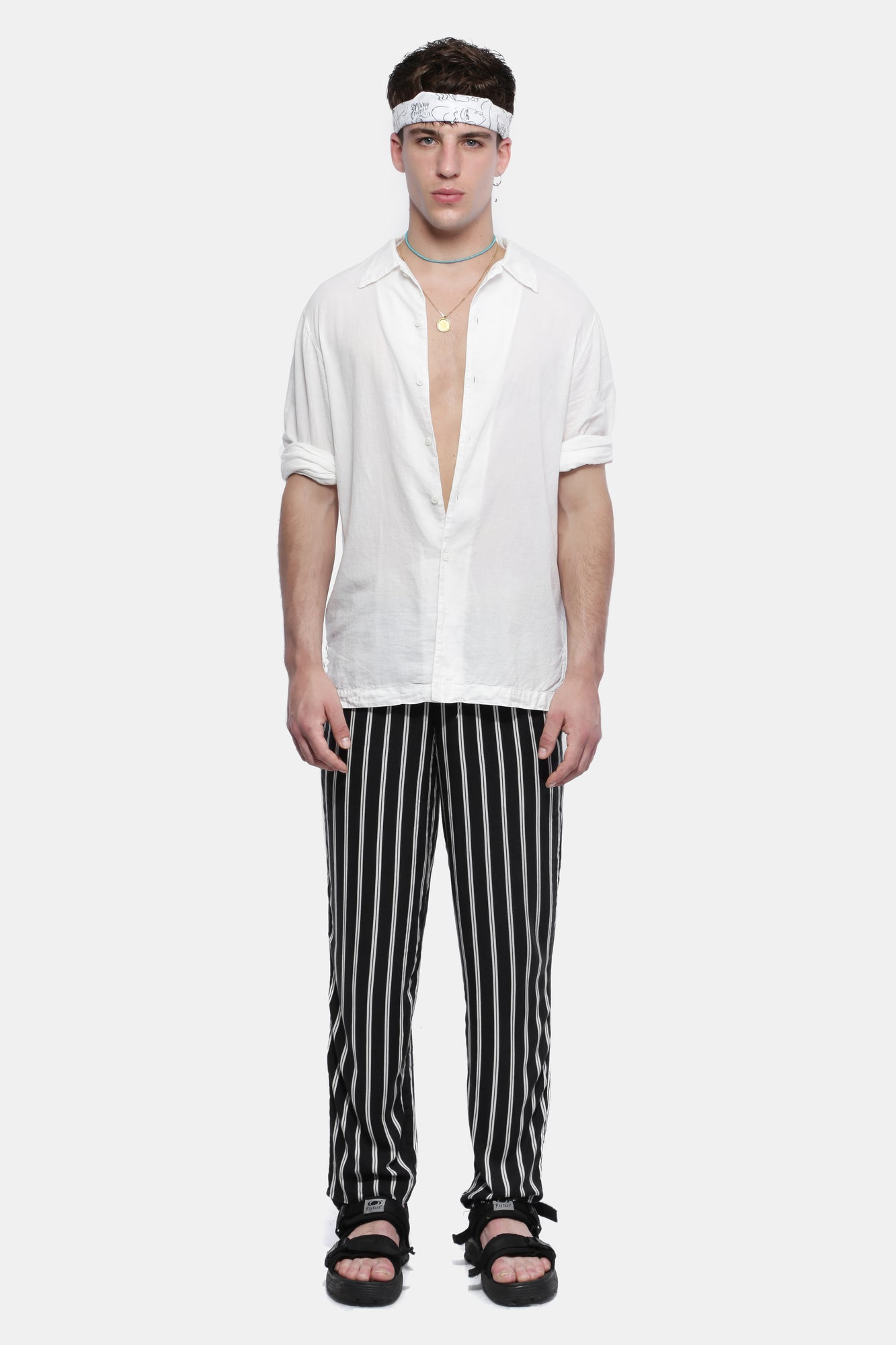 STRIPED PANTS - Esteban Cortazar