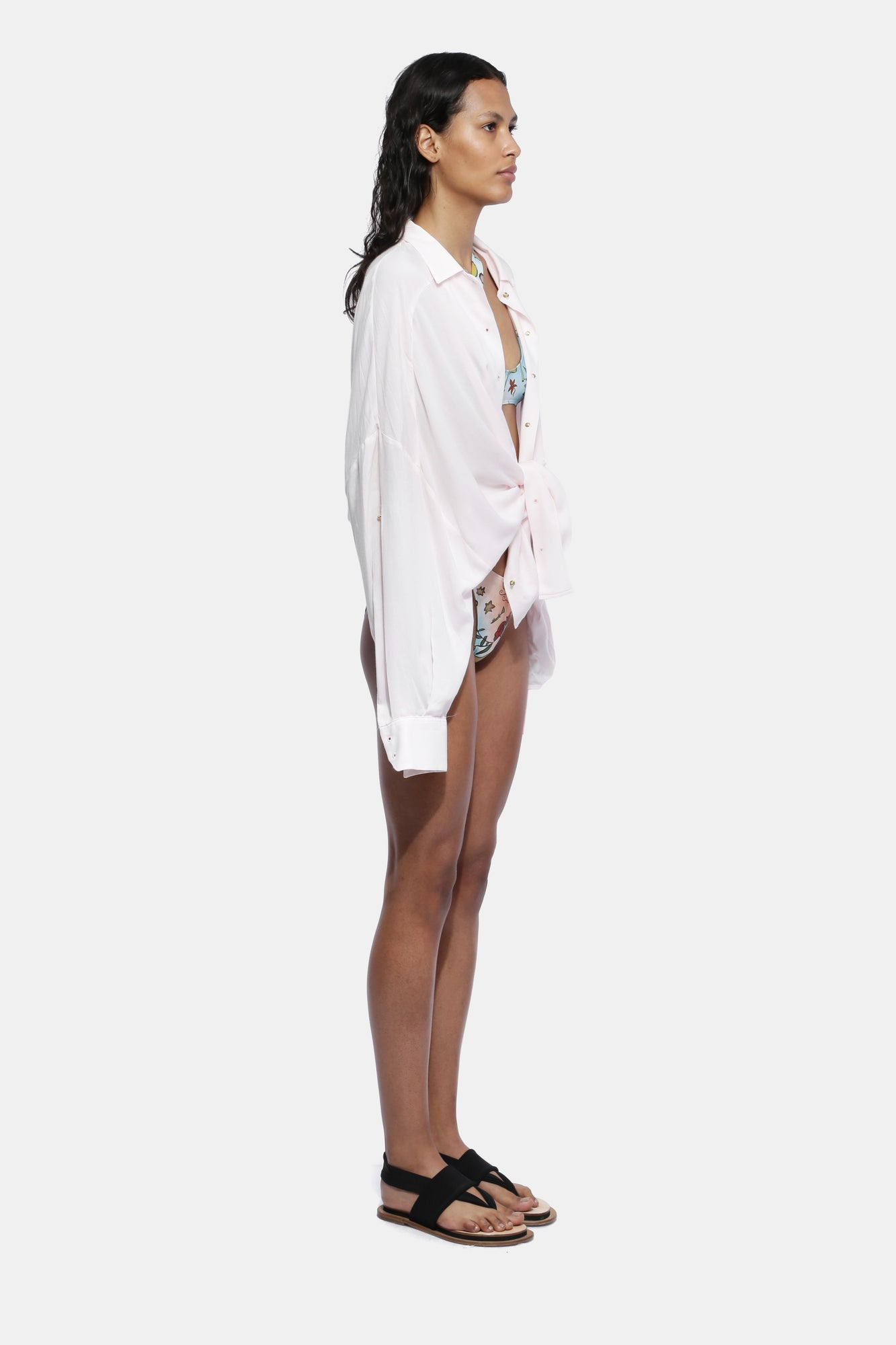 LIGHT PINK VOLUME SHIRT - Esteban Cortazar