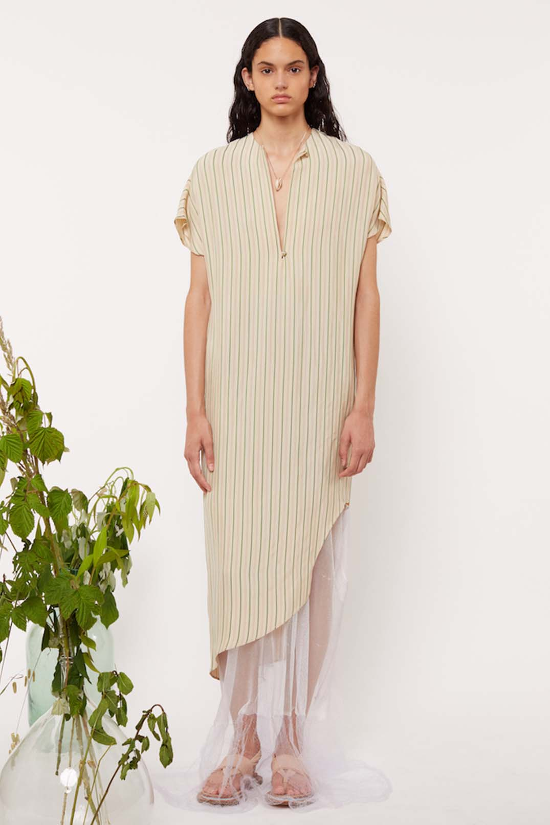TUNIC CALF LENGTH DRESS