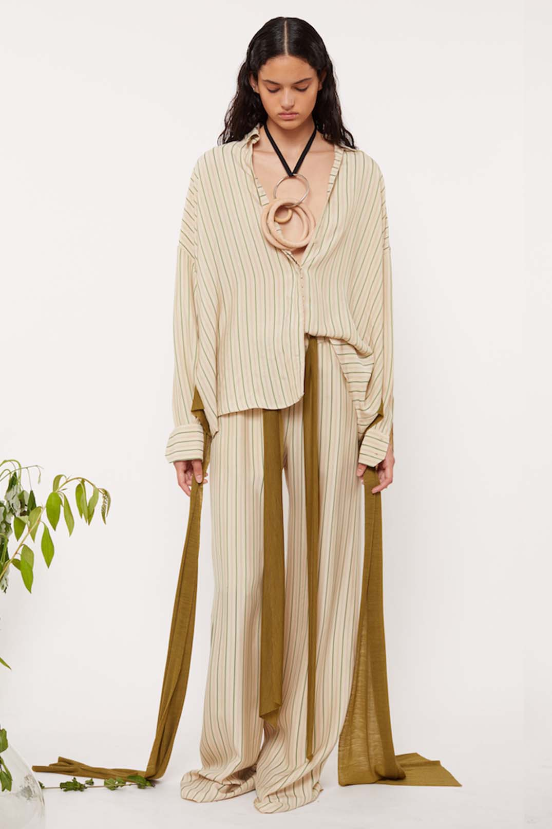 DRAWSTRING TROUSERS - Esteban Cortazar