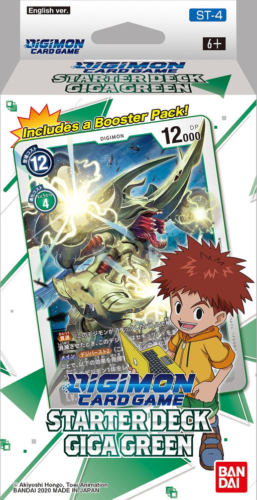 Bandai - Digimon - Giga Green - Starter Deck - Pre-Order May 7th 2021