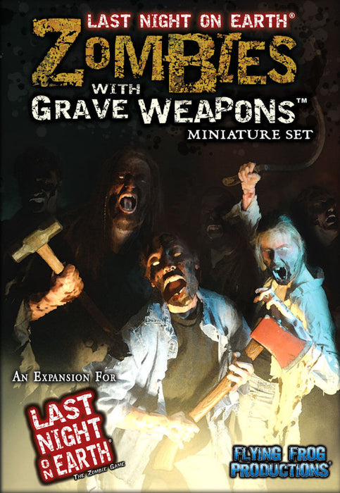 Flying Frog Productions - Last Night On Earth - Zombies With Grave Weapons - Miniature Set