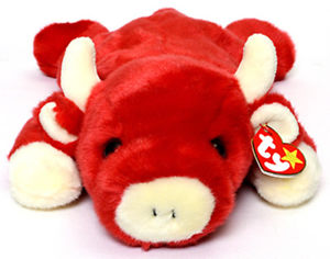TY Beanie Buddy - Snort the Bull