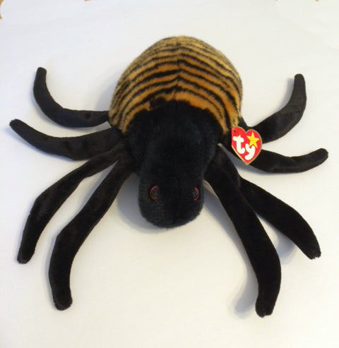 TY Beanie Buddy - Spinner the Spider