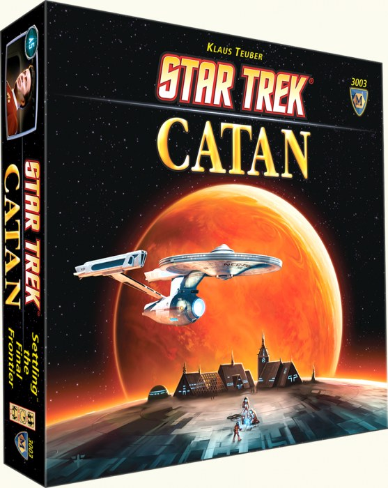 Catan - Star Trek Mayfair Games | Cardboard Memories Inc.