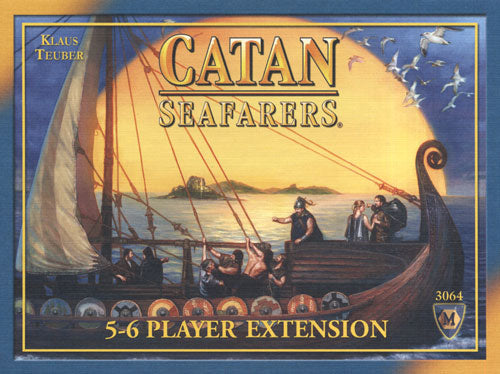 Catan - Seafarers 5-6 Player Extension Mayfair Games | Cardboard Memories Inc.
