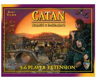 Catan - Traders & Barbarians 5-6 Player Extension Mayfair Games | Cardboard Memories Inc.