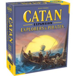 Catan 5th Edition - Explorers & Pirates Expansion Mayfair Games | Cardboard Memories Inc.
