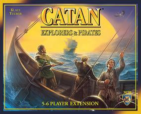 Catan - Explorers & Pirates 5-6 player Extension Mayfair Games | Cardboard Memories Inc.