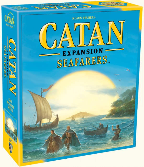 Catan 5th Edition - Seafarers Expansion Mayfair Games | Cardboard Memories Inc.