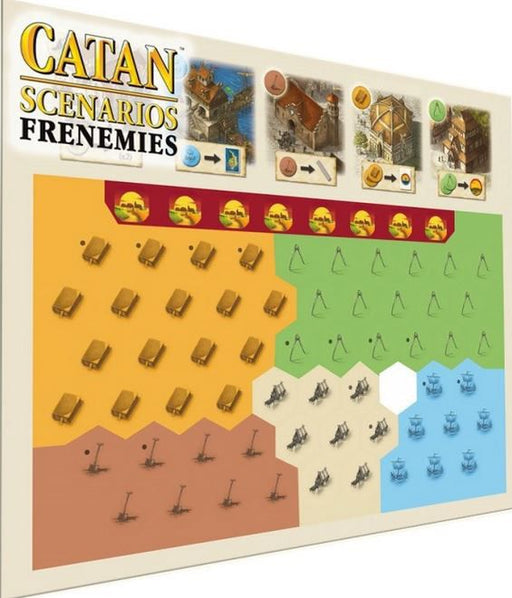Catan Scenarios - Frenemies Mayfair Games | Cardboard Memories Inc.